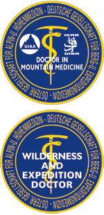 Diploma in Mountain Medicine und Diploma in Expedition and Wilderness Medicine